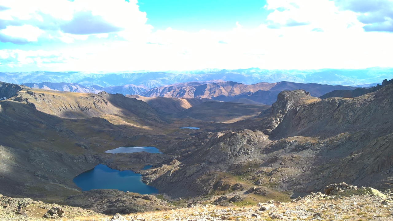 три озера в горах Качкар
