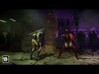 Mortal Kombat 11: Aftermath - Набор обликов Классические роковые женщины