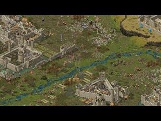 Stronghold Europe ⚔️ massive battle | 2 vs 3 vs 3 |