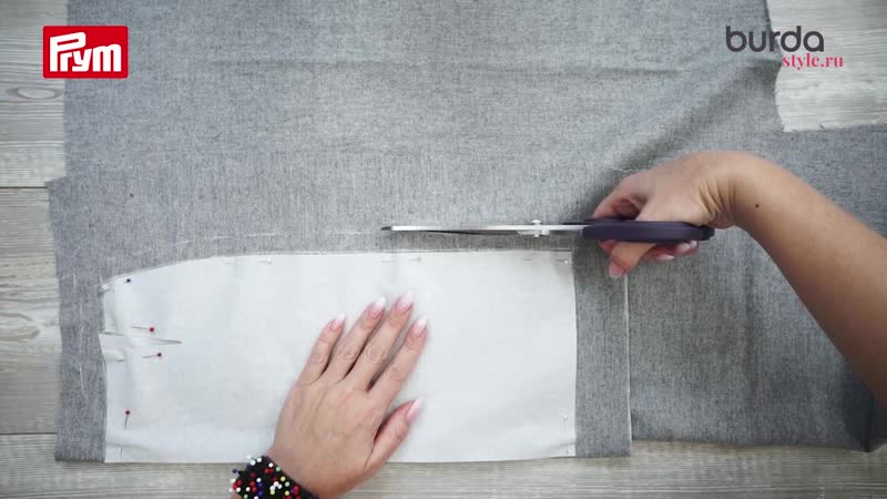 Как разметить припуски вокруг бумажной детали