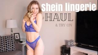 SHEIN LINGERIE HAUL  |  ALL UNDER 20$!?