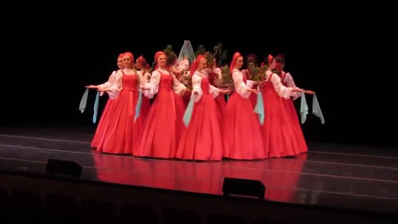 Русский танец хоровод Березка