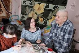 94-ую весну встречает фронтовик из села Пружинки