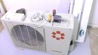 Холодильник из кондиционера! Пошаговая инструкция по подключению холодильной камеры из кондиционера!