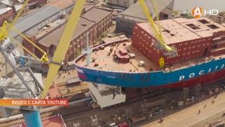 26 мая на Балтийском заводе в Санкт Петербурге будет заложен четвертый атомный ледокол нового типа