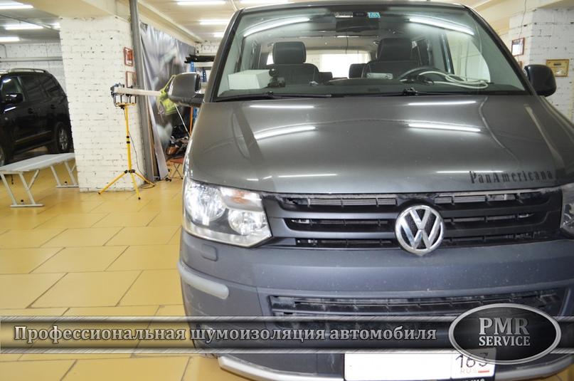 Шумоизоляция Volkswagen Multivan, изображение №2
