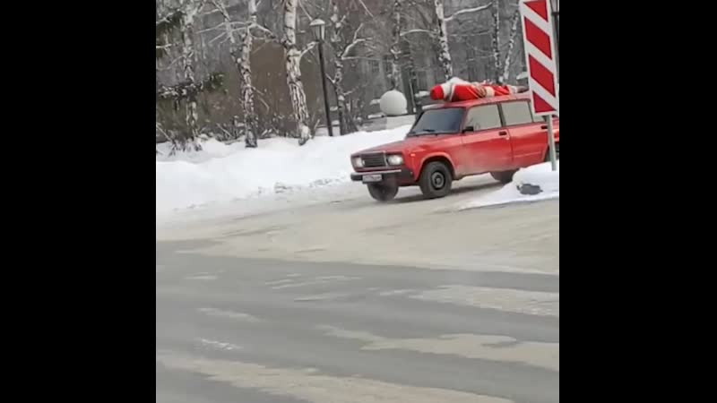 Дед Мороз на Восходе пустился во все тяжкие