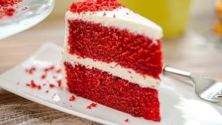 Торт КРАСНЫЙ БАРХАТ + пирожные   самый вкусный десерт   простой рецепт торта Red Velvet Cake