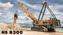 Liebherr HS 8300 HD Limestone Extraction