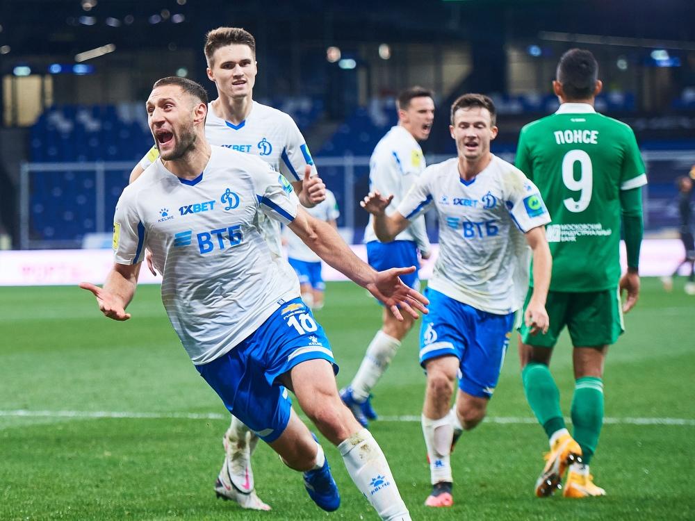 Динамо - Ахмат, 1:0