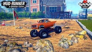 SnowRunner - LIMES RR13 MONSTER TRUCK On The RC Backyard Racetrack