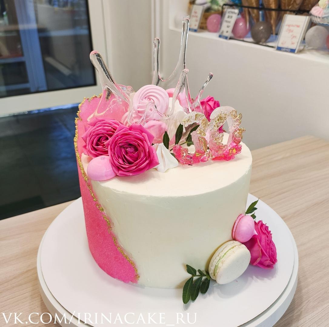 Торт на 30 лет для девушки (Арт. 642)
