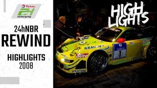 Hattrick für Manthey Racing! | 24h-Rennen Nürburgring Rewind | Highlights 2008