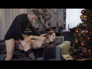 [DaneJones] Rebecca Volpetti - Couple share orgasmic Xmas presents
