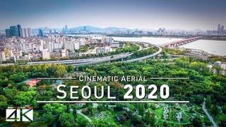 【4K】Drone Footage   Seoul - Capital of SOUTH KOREA 2019 ..:: Birds View   Aerial Film 서울