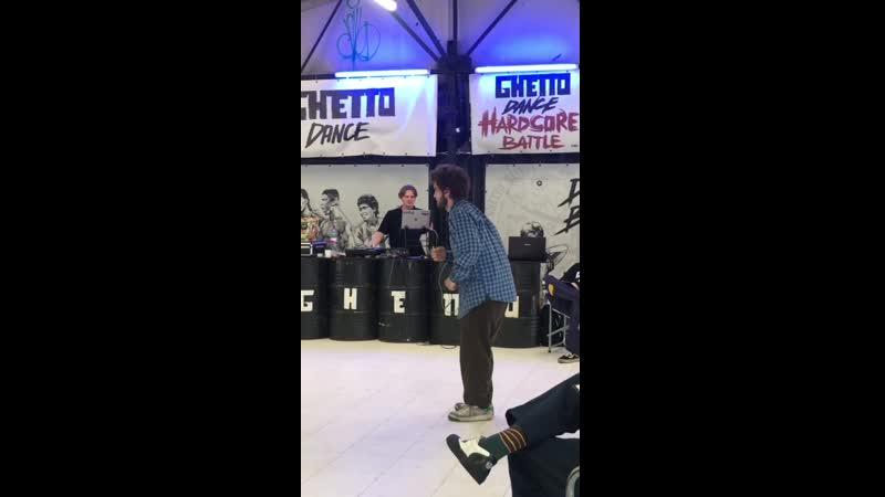 Ghetto Dance Battle Popping Pre Selection Sashka