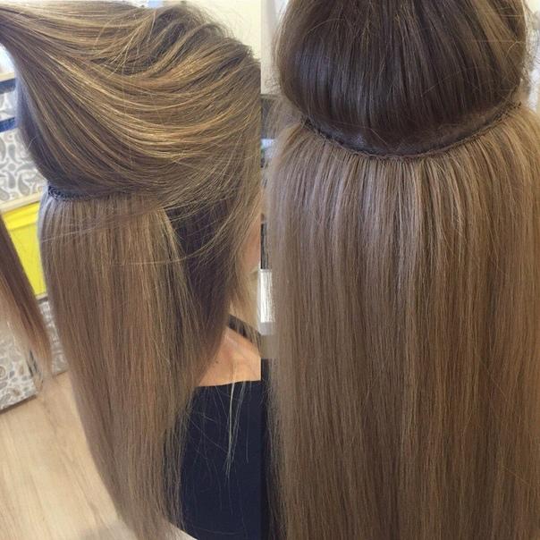 наших специалистов голливудское наращивание волос отзывы фото процессе
