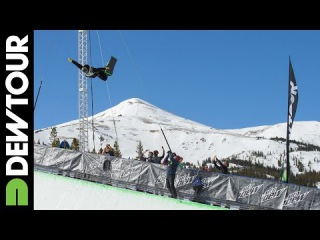 Men's Snowboard Superpipe Final Highlights, 2014 Dew Tour Mountain Championships