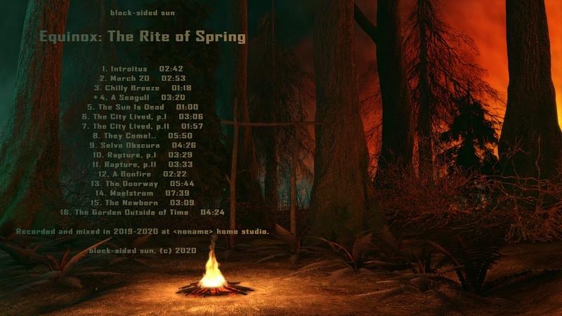 Black sided sun Equinox The Rite of Spring 2020 Full Album