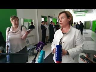 Вице-губернатор Митянина открыла новое эндоскопическое отделение в госпитале для ветеранов войн