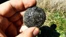 Вот это покопали Находки прут с фундаментов, поиск с металлоискателем, пятак Екатерины II монеты
