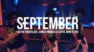 SEPTEMBER - Justin Timberlake Anna Kendrick - STREET . choreography