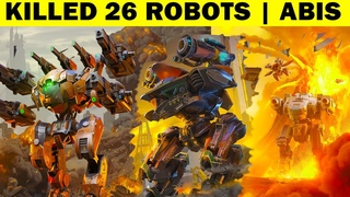 KILLED 26 ROBOTS | ABYSS | FREE - FOR ALL | WAR ROBOTS