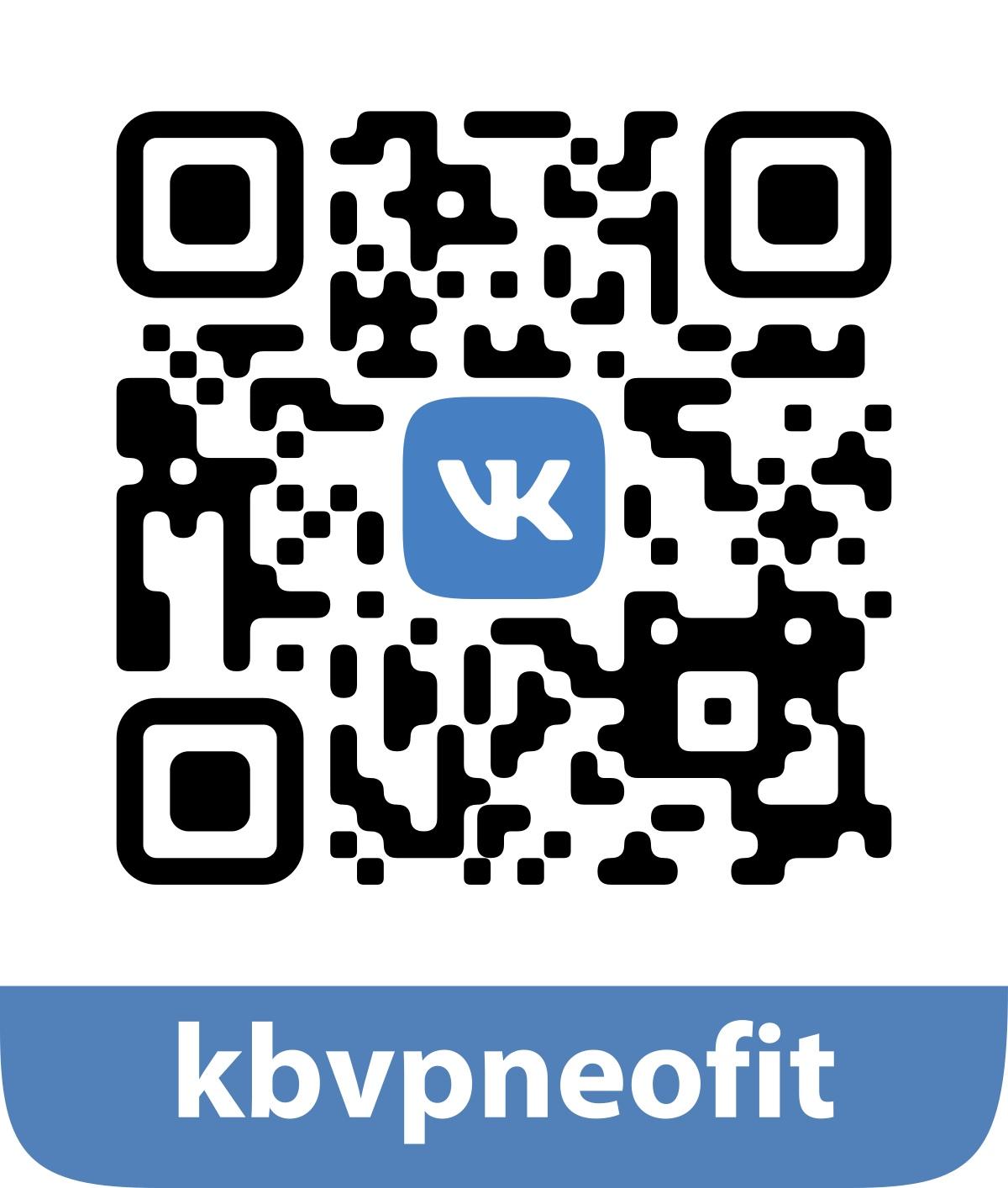 QR код моей группы ВК