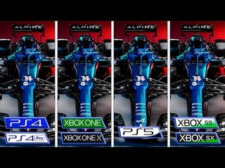 F1 2021 | Xbox One - Xbox Series - PS4 - PS5 | Graphics Comparison & FPS
