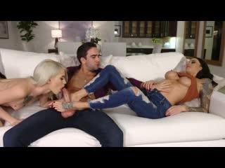 Gia Dimarco Kiara Cole - I Let My Stepmom Fuck My Boyfriend [порно, трах, ебля,
