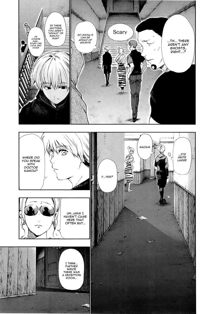 Tokyo Ghoul, Vol.10 Chapter 95 Temporary Dwelling, image #6