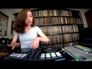 DJ SARA | Freestyle Scratch with djay Pro and Reloop Beatpad 2