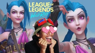 LoL WILD RIFT is BEAUTIFUL! [Alpha Test] - JINX Gameplay 🇵🇭