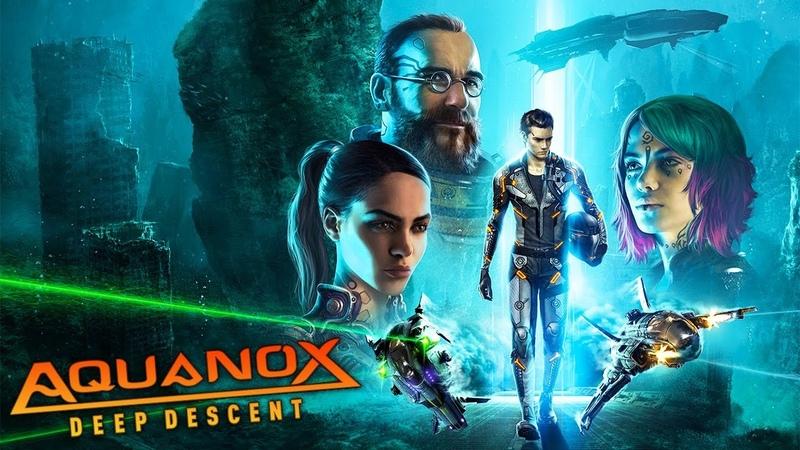 ВОЙНА ПОД ВОДОЙ СУРОВЫЙ МИР АКВЫ Aquanox Deep Descent стрим 1