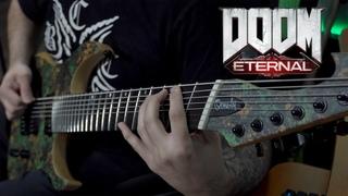DOOM ETERNAL (OST) - BFG 10000 (Mick Gordon) // 8 String Guitar Cover