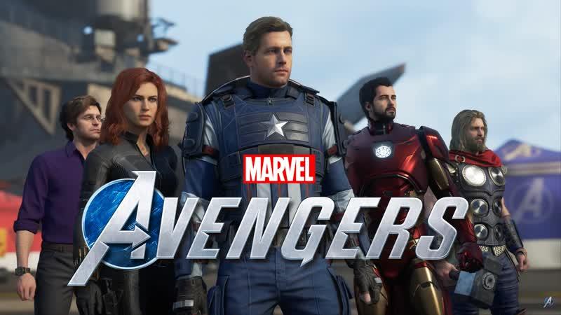 Marvel's Avengers Часть 13 В одиночку против АИМ