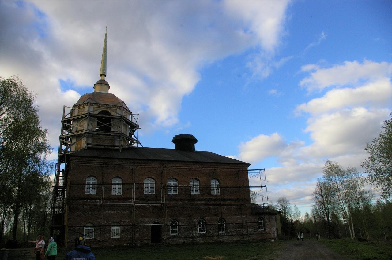 Город Бокситогорск и Антониево-Дымский монастырь