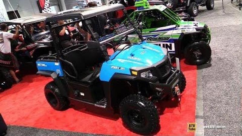 2018 HiSun Sector 250 Utility ATV Walkaround 2017 SEMA Las Vegas