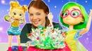 Игрушки для девочек РАСПАКОВКА НОВЫХ КУКОЛ. Девочки Феи Фееринки нарядились на День Феи Мерцания!