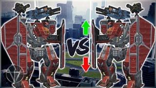 [WR] 🔥 Arthur Before VS After REBALANCE – Maxed Titan Comparison | War Robots