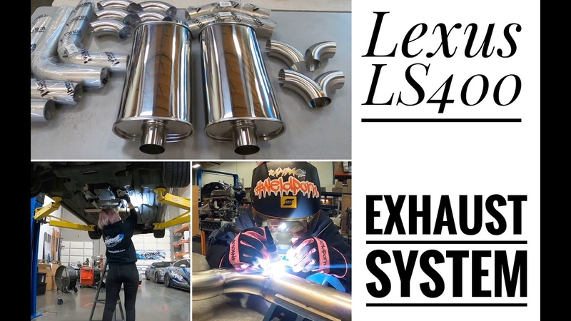 THE BEST SOUND FOR LEXUS LS400 MY EXHAUST SYSTEM