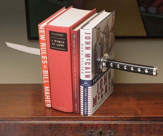 Подставка для книг настоящего самурая -