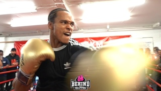 🦁ANTHONY YARDE'S  🦁A BEAST!! SHOWS OFF HIS SPEED AND POWER WHILE BEING PLAYFUL ON THE MITTS!