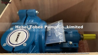 Tobee Horizontal Slurry Pumps for Mining and sand silica procesing