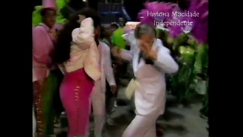 Momentos da Nossa História 1990- Castor de Andrade e Cantora Alcione!