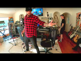 IV   Papa Roach recording live from the bubble - #PapaRoach on #Twitch | #Papa_Roach