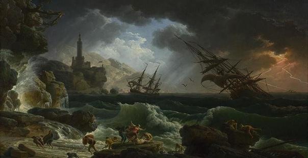 Счастливчиков, которым удается выжить при кораблекрушении, британские моряки наз...