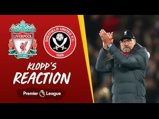 Klopp's reaction 'hendo is exceptional, outstanding' | liverpool v sheffield united