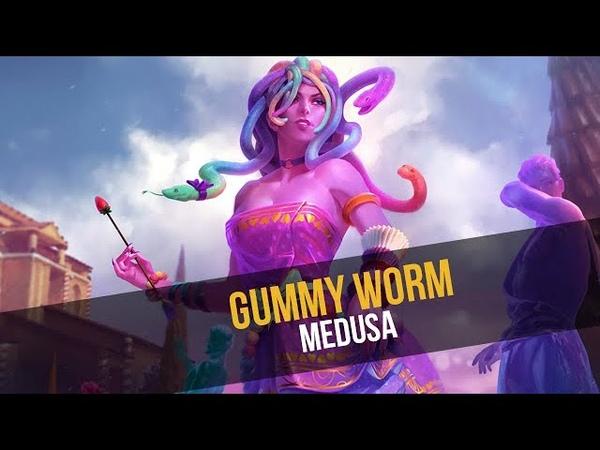NEW SKIN for Medusa Gummy Worm