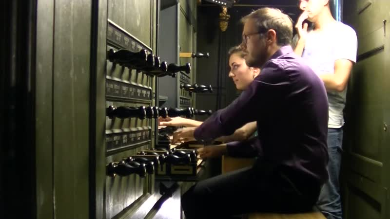 1043 J S Bach Concerto in D minor for Two Violins BWV 1043 Anne Gaëlle Chanon Pieter Jelle de Boer organ